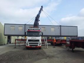 Paul Sleight at David Watson Transport Ltd