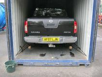Container Vehicle Storage