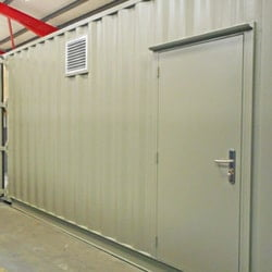 High Voltage Equipment Enclosure Container