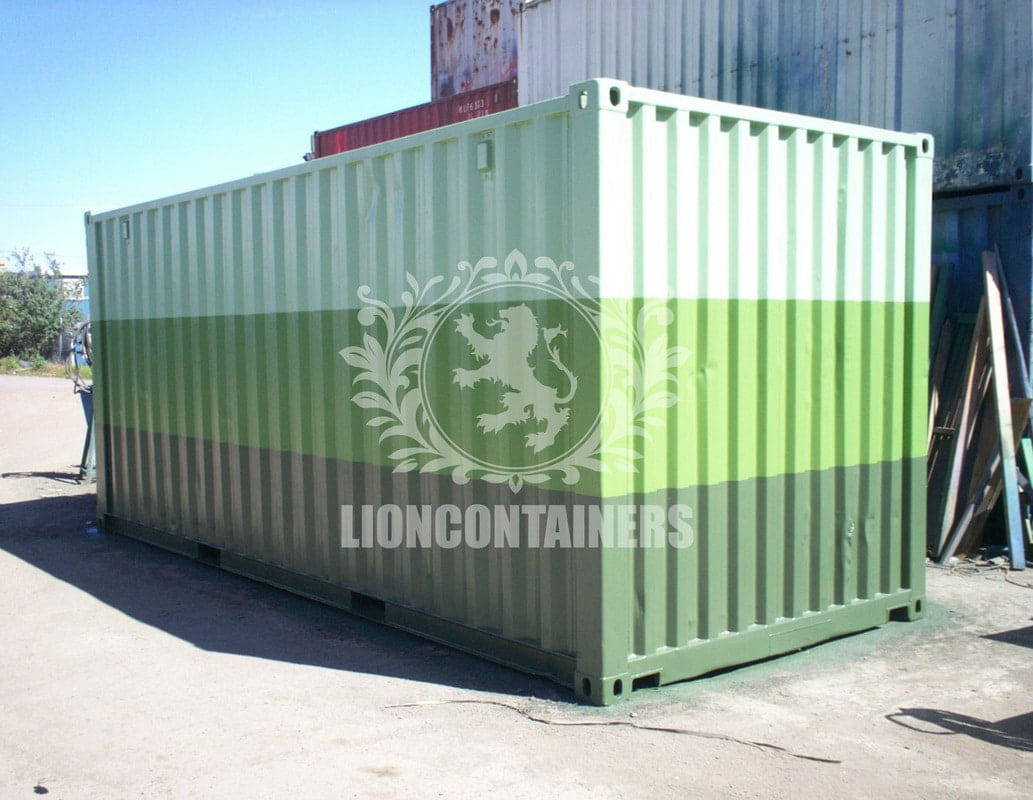 Paint Your Shipping Container