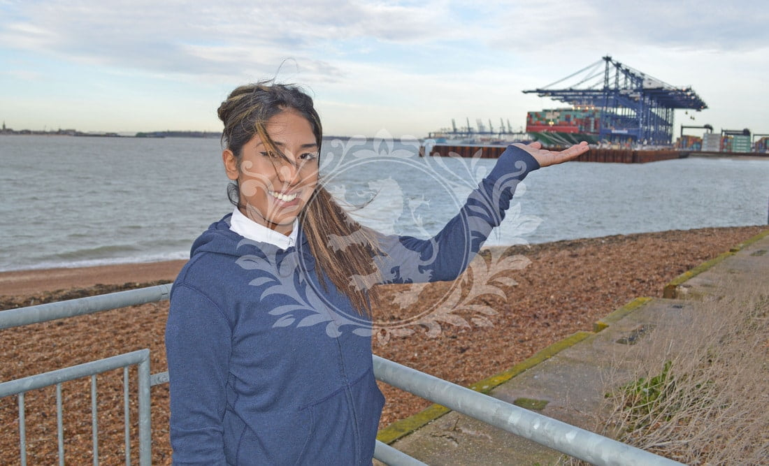 Witnessing The World's Largest Container Ship At The Port Of Felixstowe By Priya Virdi
