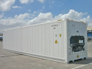 Secure Refrigerated Container