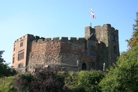 Tamworth Castle St. George's Day
