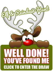 Join our Elf and Reindeer Hunt to Win Champagne