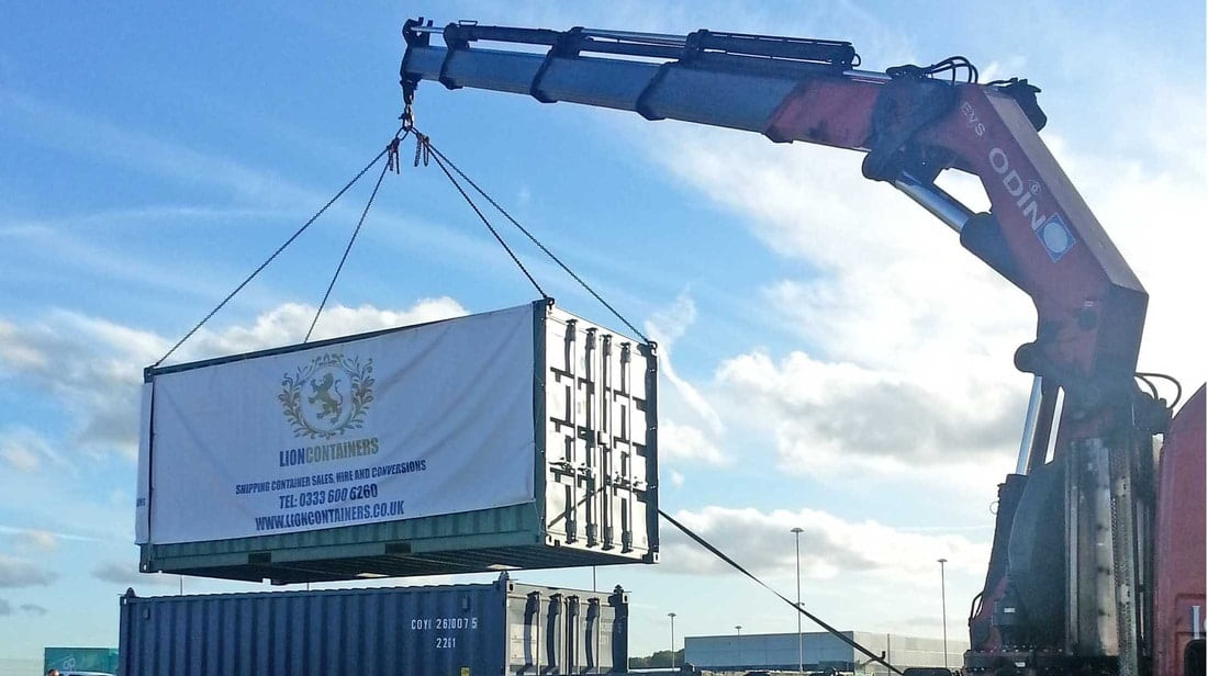 How Are Steel Storage Containers Delivered?
