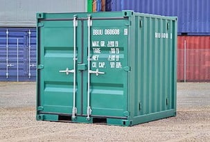 8ft container tool shed