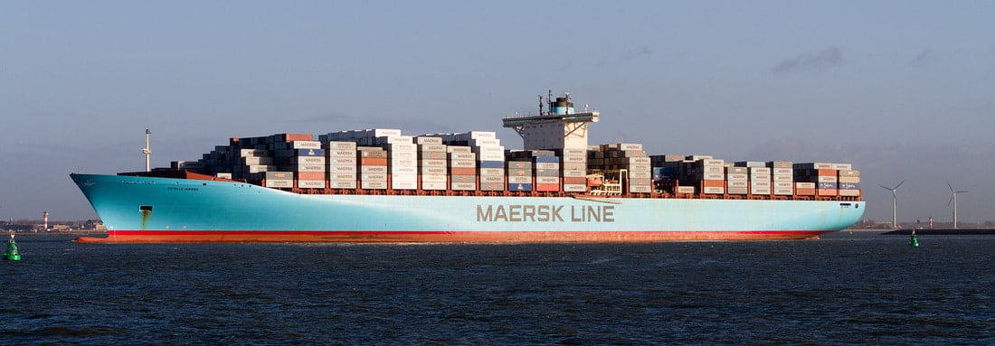 Four Times The Size Of The Titanic, The Estelle Maersk