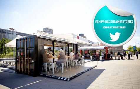 Shipping Container Porchetta Box Restaurant Developed in Canada