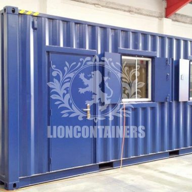 Shipping Container Personnel Doors | Lion Containers Ltd