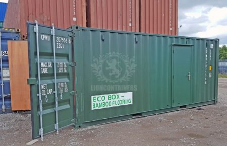 20ft Compressor Storage Container