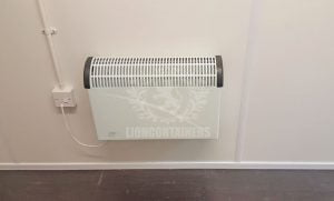 Shipping Container Heating