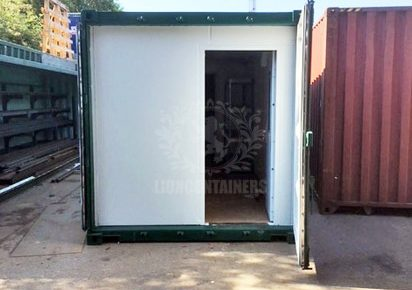 40ft Store Room and Workshop Container