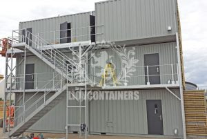 Shipping Container Personnel Doors