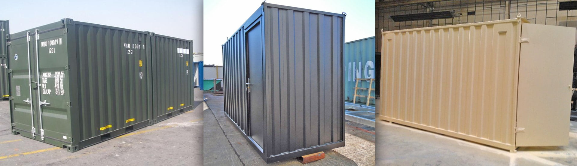 Bespoke Container Sizes