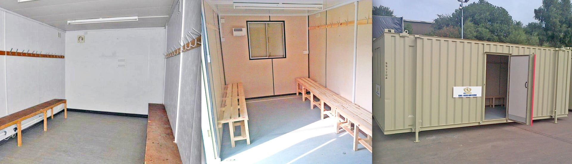Container Changing Rooms