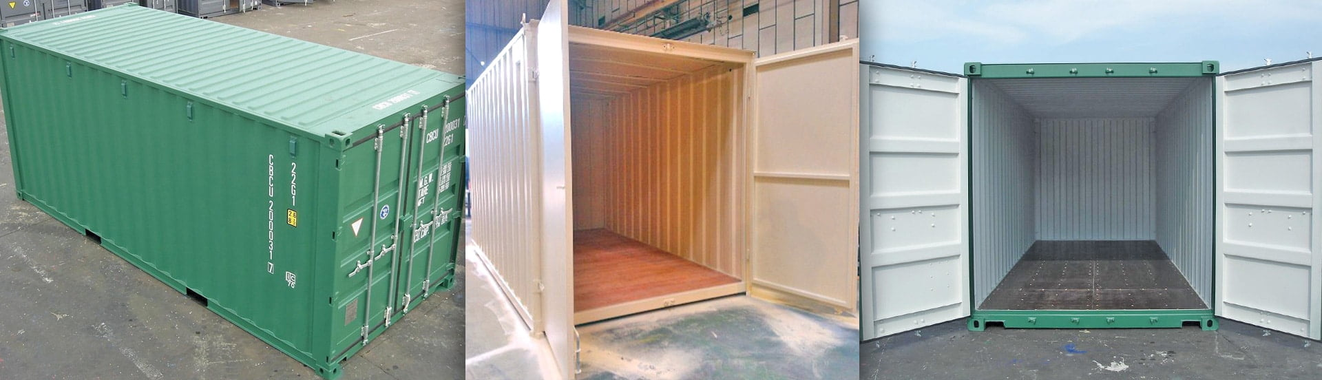 Garden Shed Containers