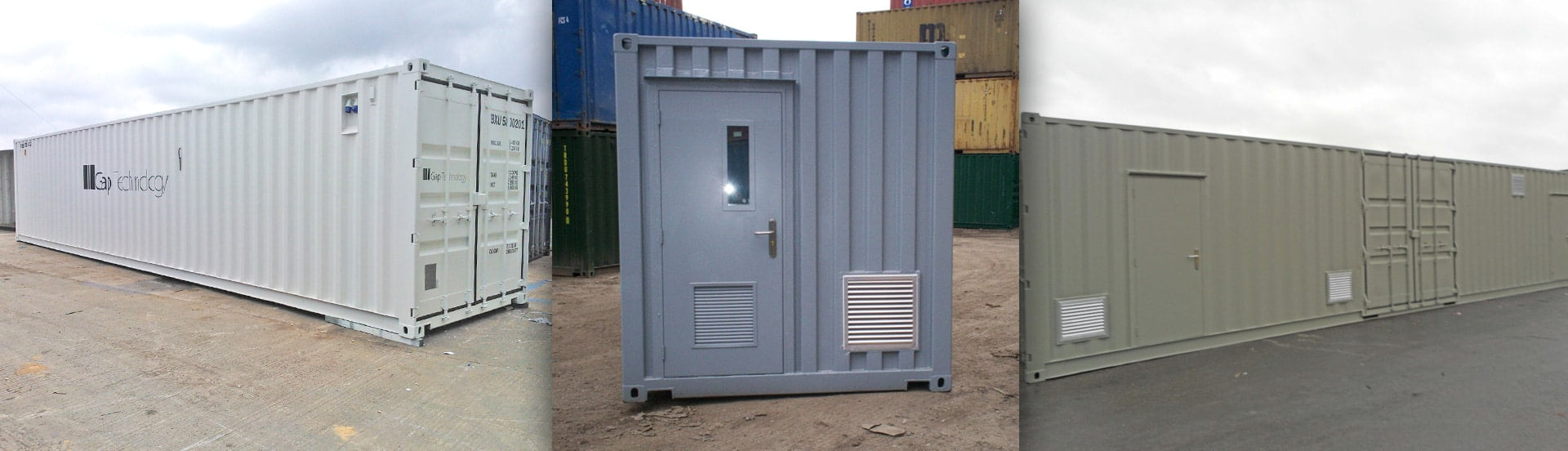 Generator Enclosure Containers