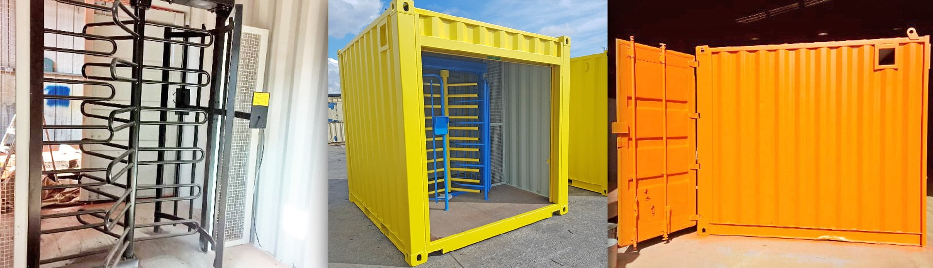 Security and Turnstile Containers