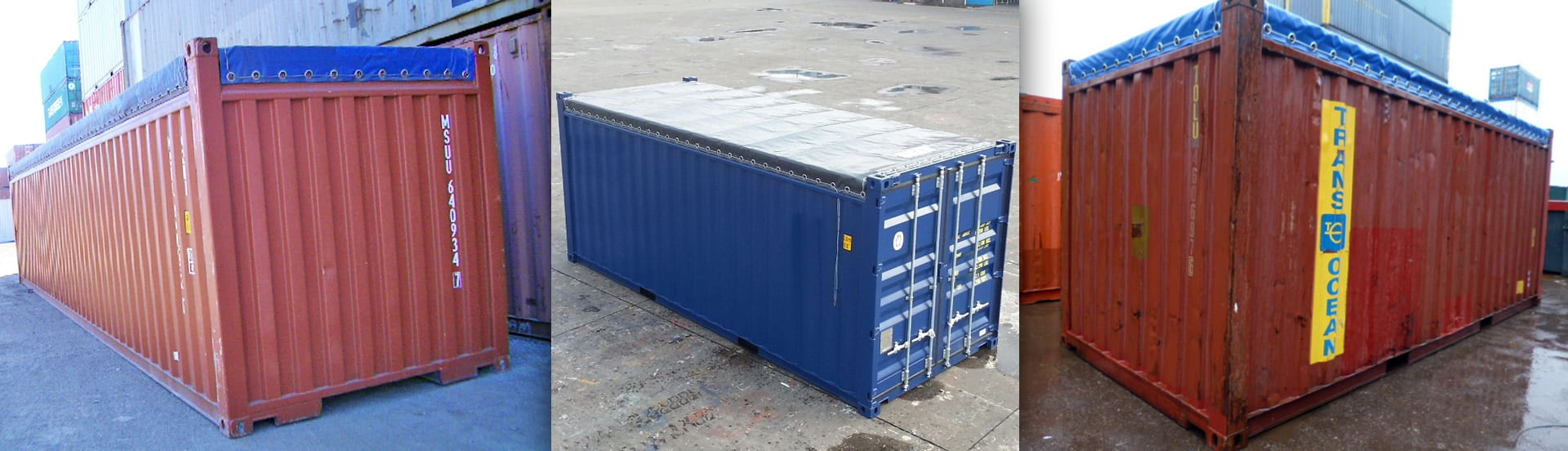 Open Top Container Tarpaulin